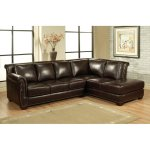: leather sectional sofas on sale