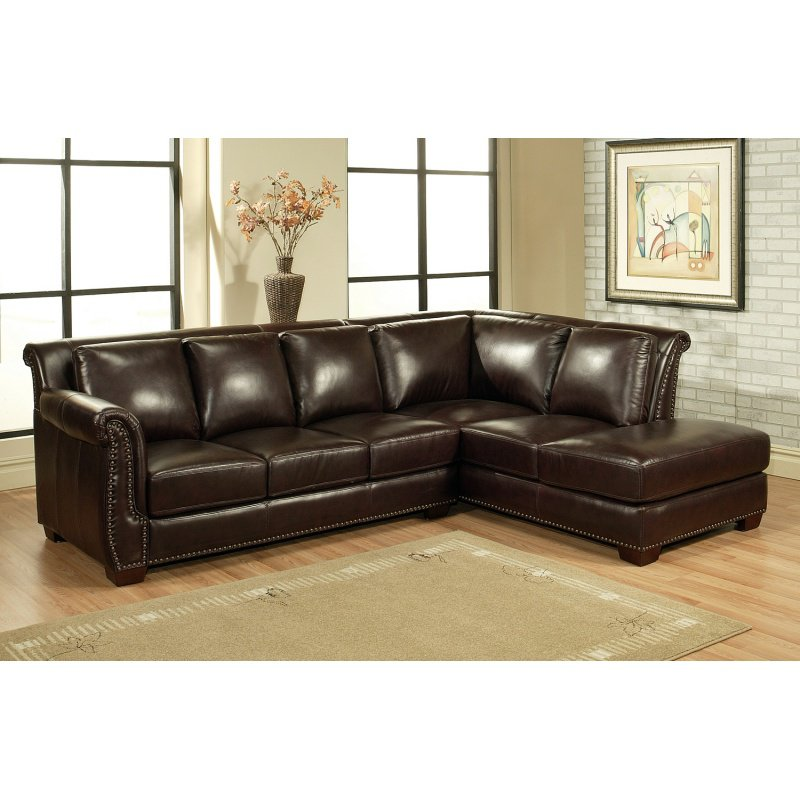 Leather Sectional Sofas On Sale