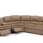 : leather sectional with sleeper sofa