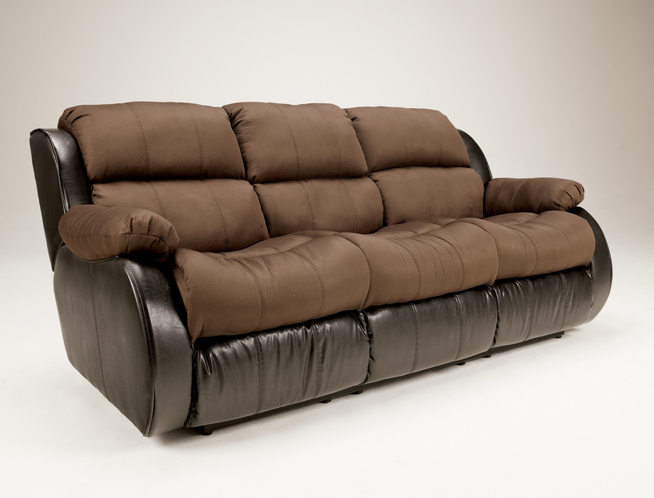 Leather Sleeper Sofa And Reclining Loveseat