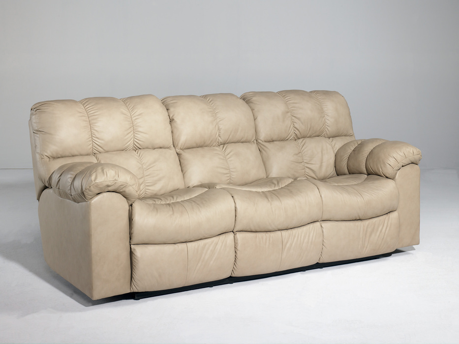 Leather Sleeper Sofa With Recliner