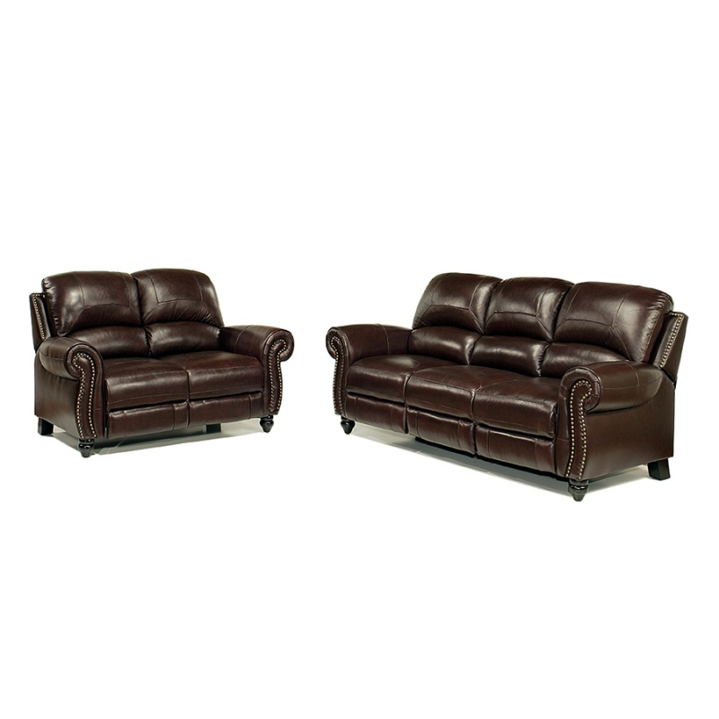 Leather Sofa And Loveseat With Recliners