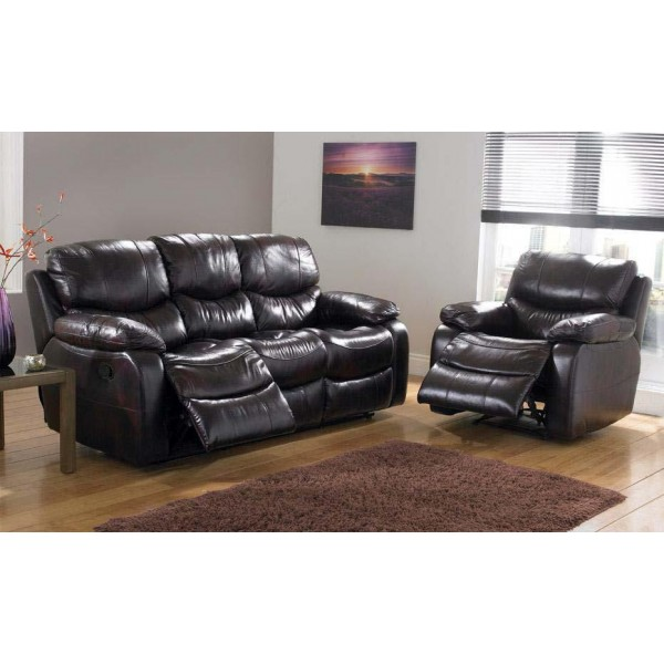 Leather Sofa Recliner Cheap