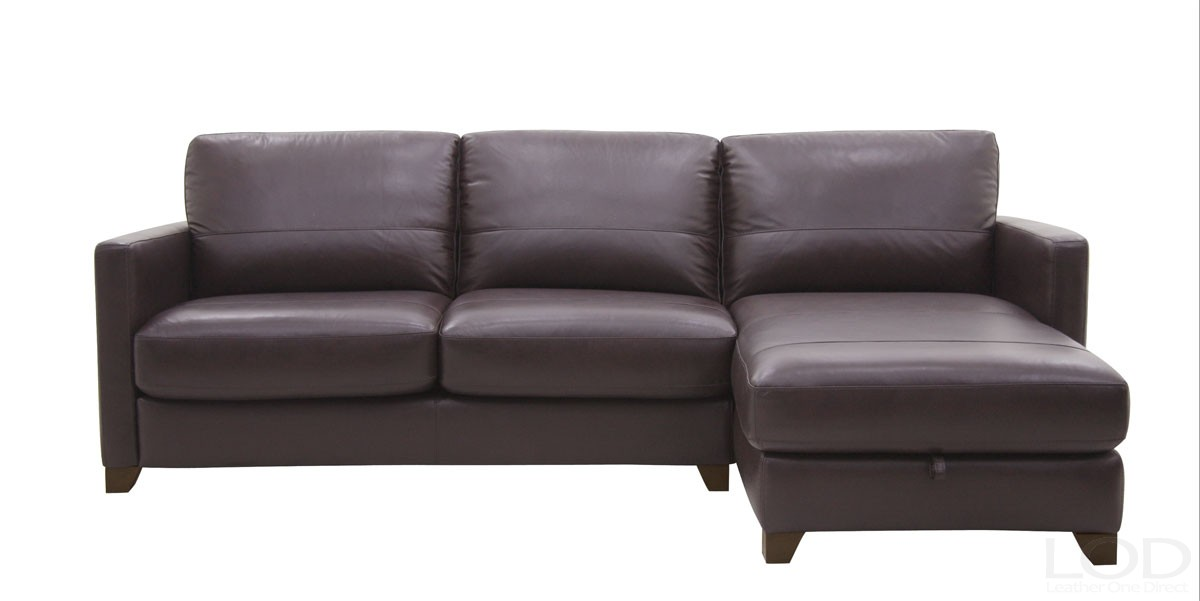 Leather Sofa Sleeper With Storage