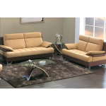 : leather sofa with loveseat