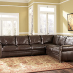 : leather sofas sectional sale