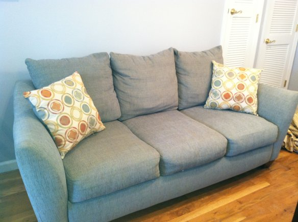 Light Blue Couch For Sale