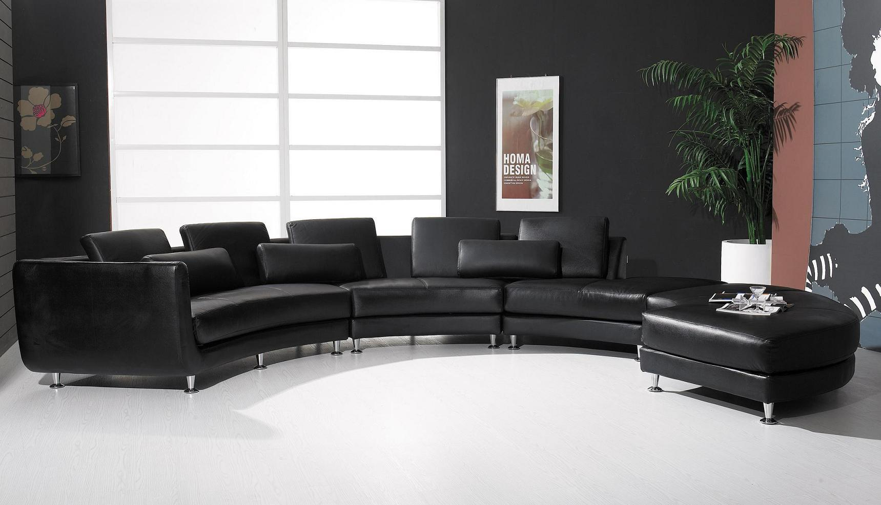 Long Modern Sectional Sofas