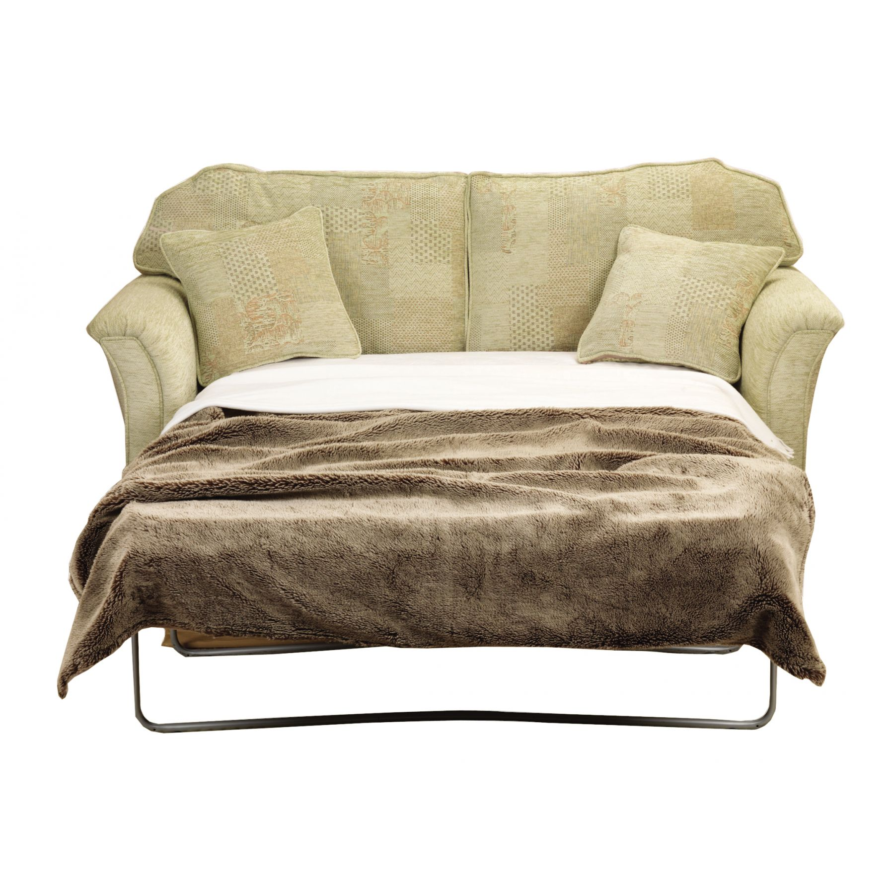 Convertible Loveseat Sofa Bed With Chaise Couch amp
