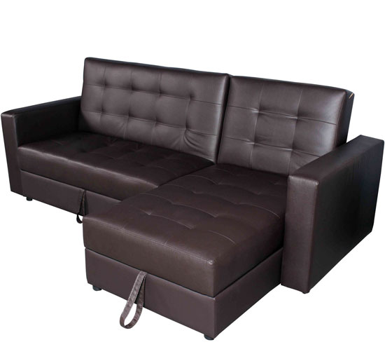 Convertible loveseat sofa bed with chaise couch sofa ideas interior design Storage loveseat