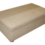 : loveseat with pull out ottoman