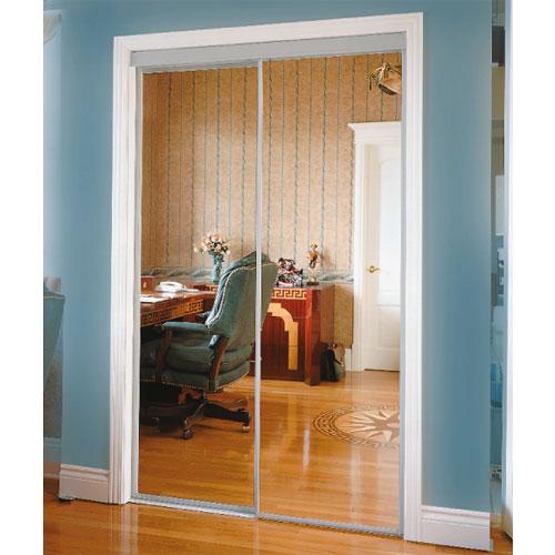 mirror sliding closet doors rona