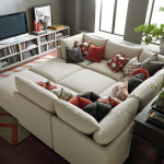 : pit sofa sectional