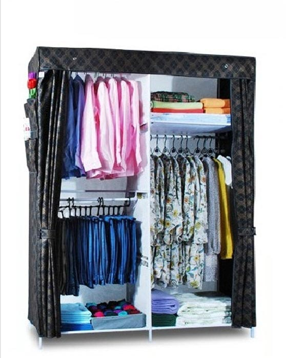 portable closet for hanging clothes