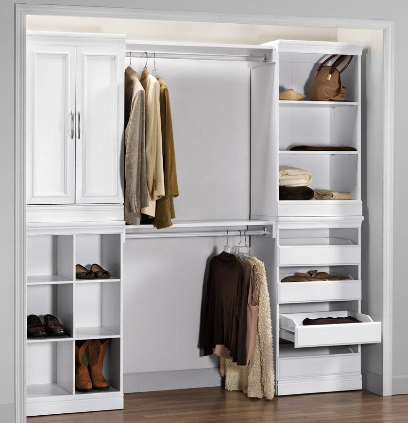 prefab closet cabinets
