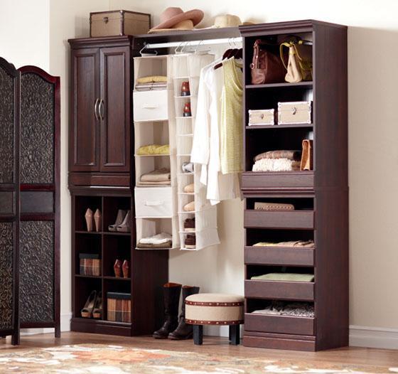 prefab closet organizer