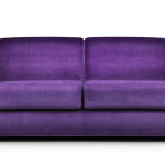 : purple sofa mile end