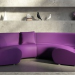 : purple sofa pillows