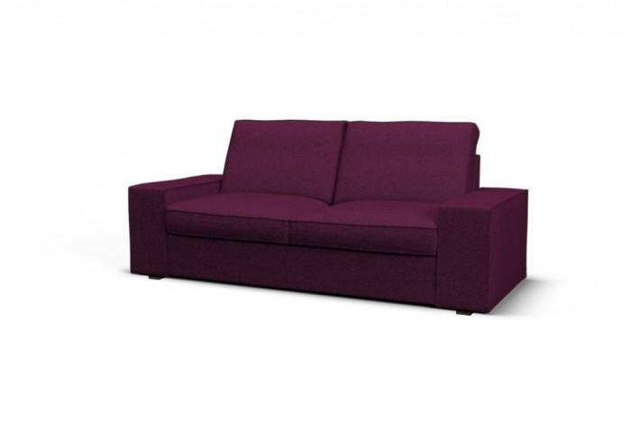 Purple Sofa Slipcover