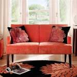: red and black sofa designs