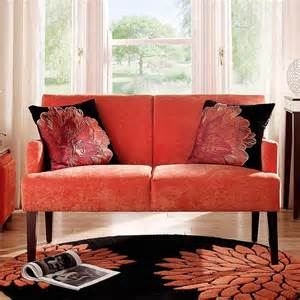 Red And Black Sofa Designs