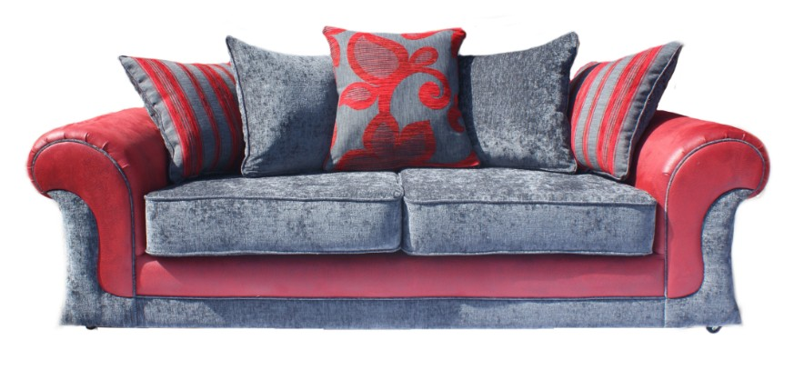 Denim sofa ikea couch sofa ideas interior design for Red denim sectional sofa