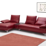 : red leather sofas on sale