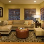: sectional sofa long narrow room