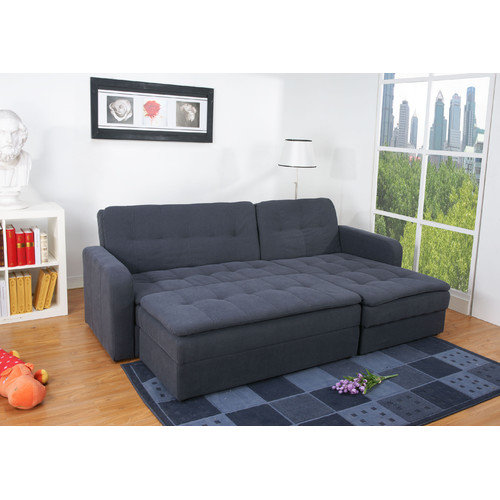 What furniture can be more functional than sectional couch for Sofa bed ottoman