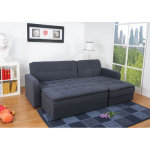 : sectional sofa sleeper with ottoman