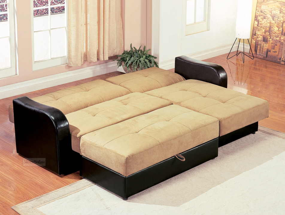 Sectional Sofa Sleeper With Storage