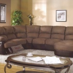 : sectional sofa with chaise and recliner
