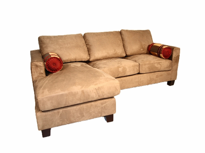 Small sofas & couches with long chaise.