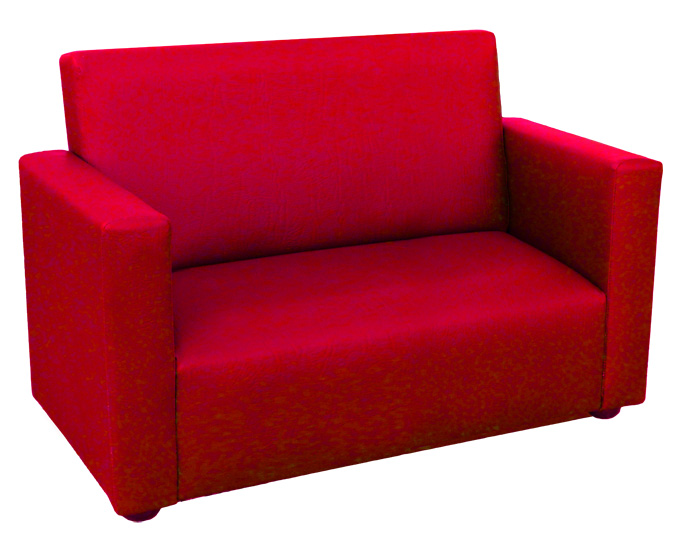 Small Red Couch For Sale