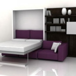 : small sofa in bedroom