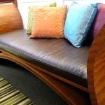 : sofa and loveseat wood