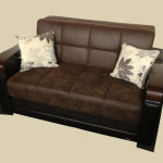 : sofa bed and loveseat