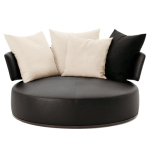 : swivel loveseat couch chair