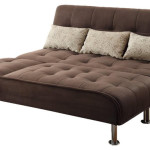 : transitional style sectional sofa sleeper in brown