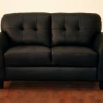 : used leather couch and loveseat