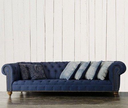 Terrific White Denim Couches Couch Sofa Ideas Interior Design Creativecarmelina Interior Chair Design Creativecarmelinacom