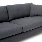 : wide arm couch