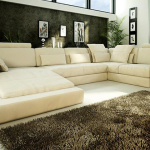 : wide seat couch