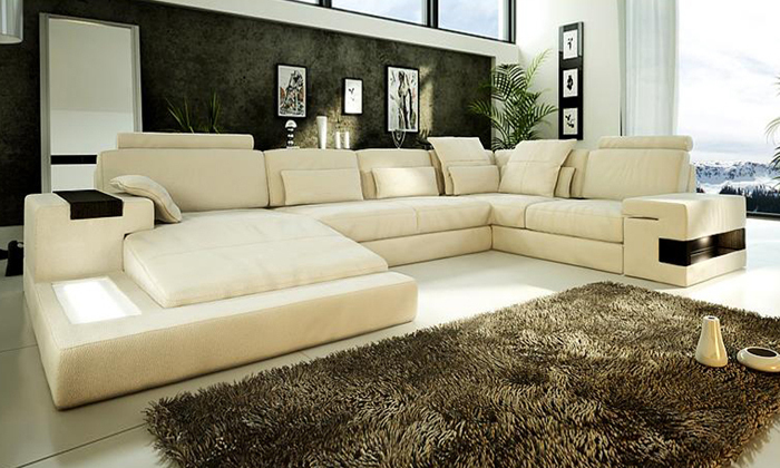 Wide Seat Couch