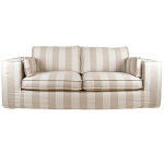 : wide stripe couch
