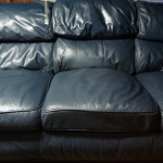 : worn out leather sofa repair