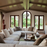 : wrap around couch ideas