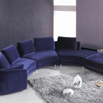 : wrap around couch recliner