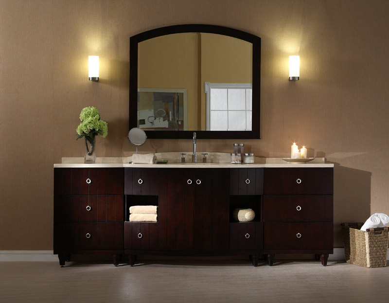 96 bathroom vanity cabinets
