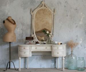 Antique bathroom vanity mirrors